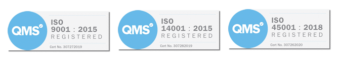 ISO Certifications Terry Healy Group Ltd